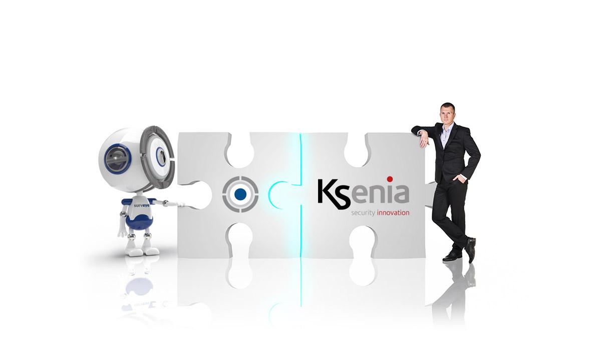 Surveye diventa <br>#goldpartner Ksenia</br>