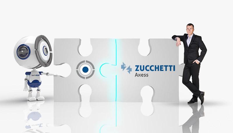 Partnership Surveye e Zucchetti Axess